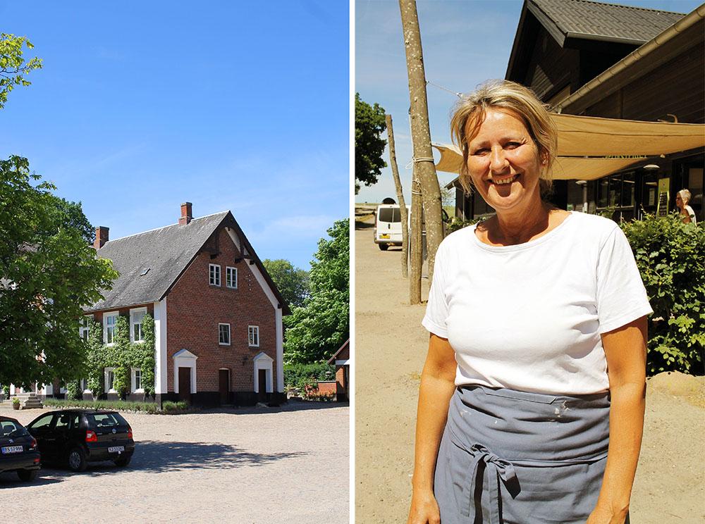 FRU MØLLERS MØLLERI: Bodil Møller driver gården sammen med mannen sin, Kim. Foto: Tenk Koffert