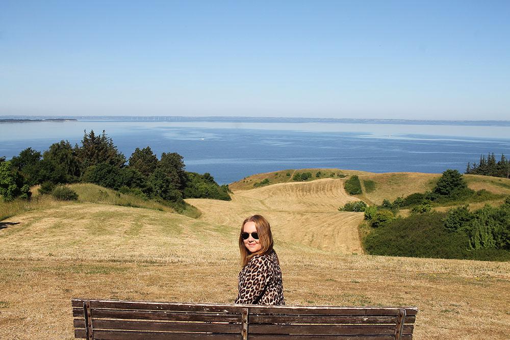 TENK KOFFERT I DANMARK: Her er jeg på tur i Djursland og Aarhusregionen. På denne reisen var jeg blant annet innom Djurs Sommerland. Foto: Tenk Koffert