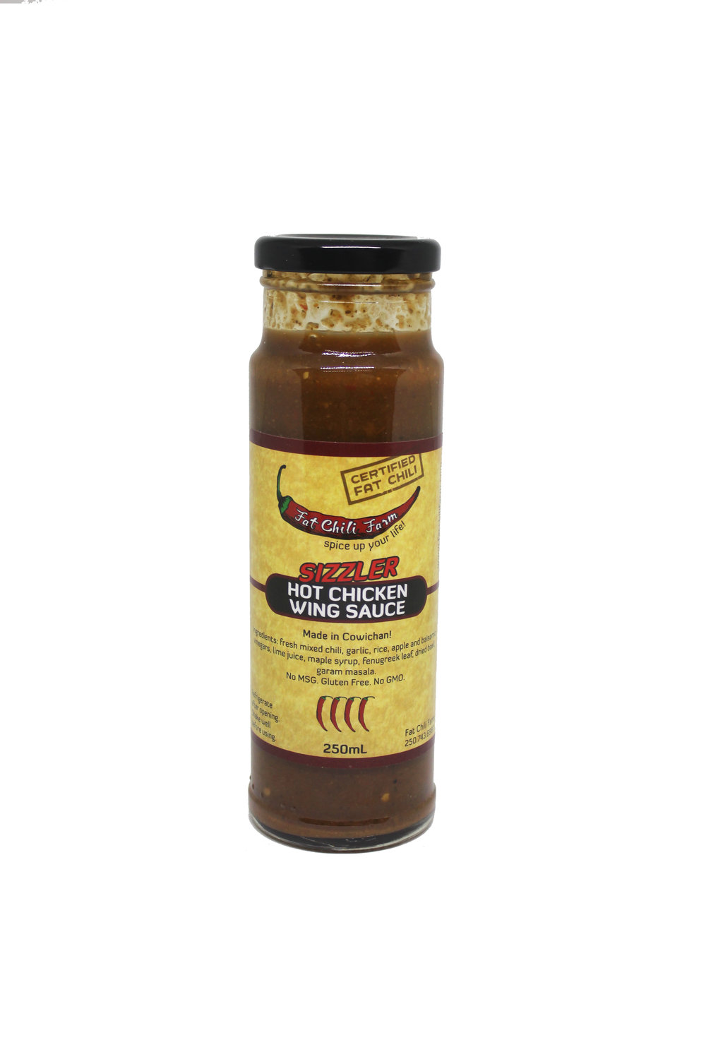 Wing Sauce  - Adding to the barbecue sauce family, FCF introduces the Wing Sauce. A combination of garam masala powder and maple syrup creates a spicy curried wing sauce that perfectly balances sweet and spice.