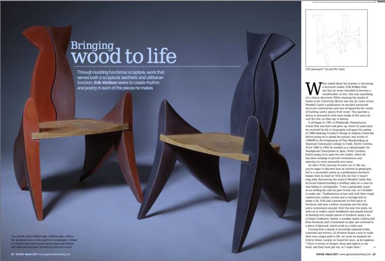 Good Woodworking Magazine March 2017 Erik Wolken