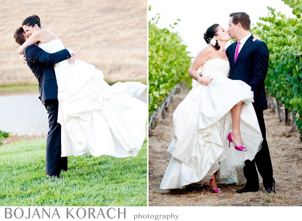 nicholson ranch winery wedding, bride and groom fine art portraits