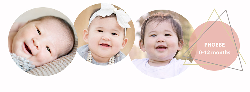 San Francisco East Bay photographer offers a great and affordable photo deal called Baby Plan to her clients. Three photography sessions in the first year of your child's life.