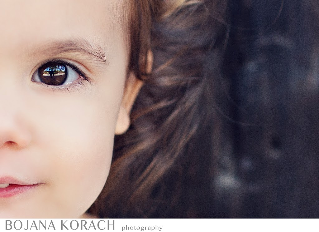 San Francisco bay area photographer captures stunning eyes of a beautiful young girl child