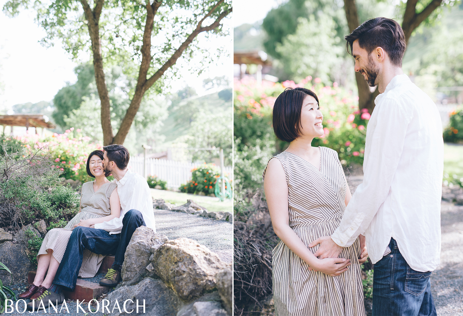 maternity session at the old borges ranch in walnut creek
