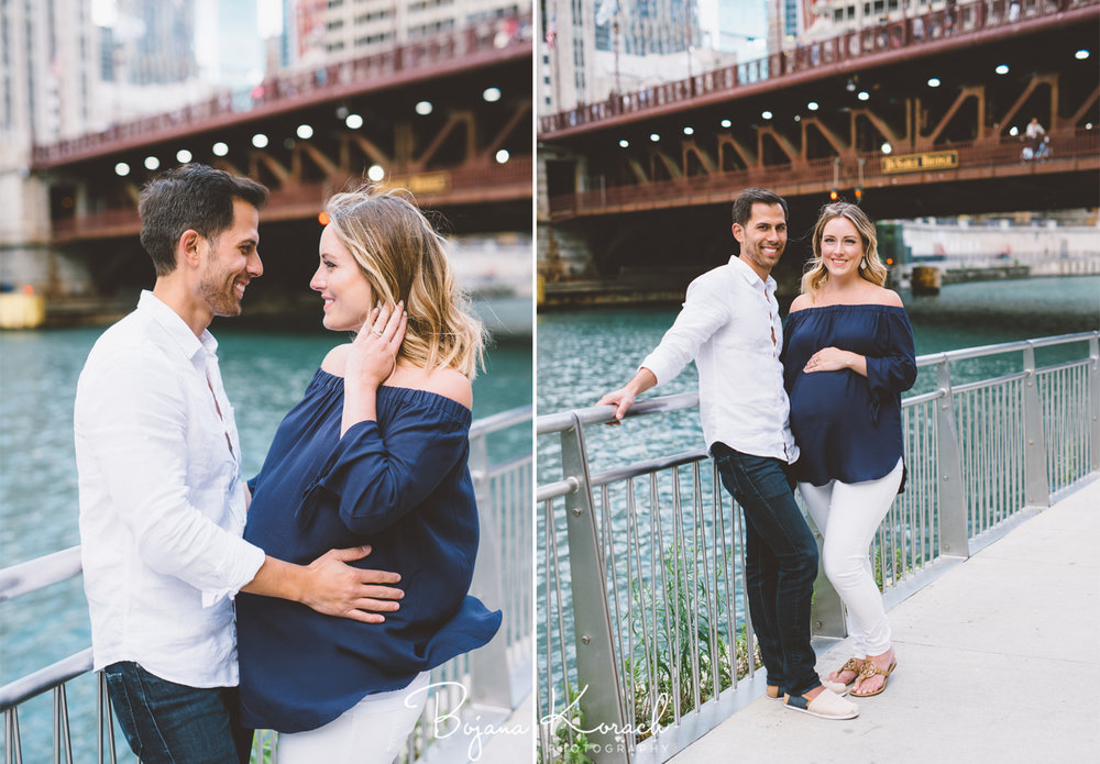 riverwalk maternity photo