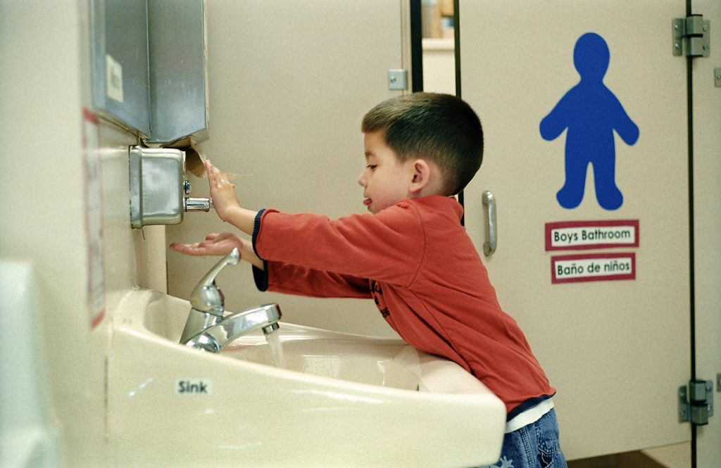 kid washing hands_child_boy