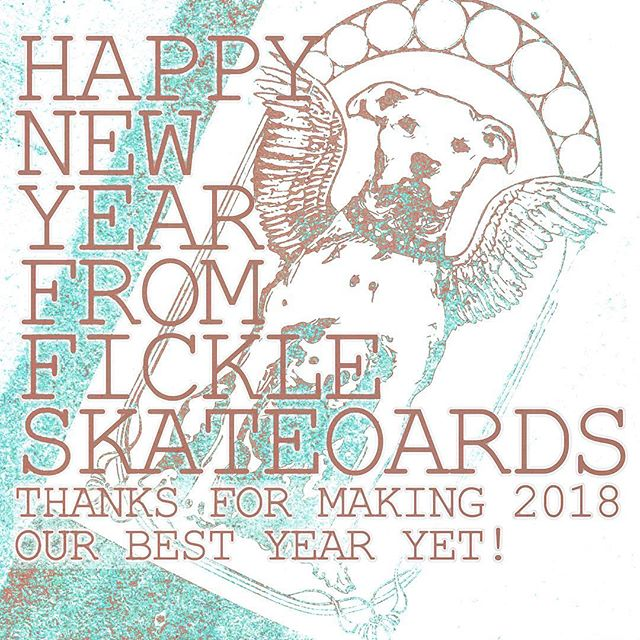 Thank you for helping us to make more skateboards for more kinds of skateboarders than ever before. The message that skateboarding is for everyone and that quality matters is catching on because of YOU! We love you all! Happy new year!
