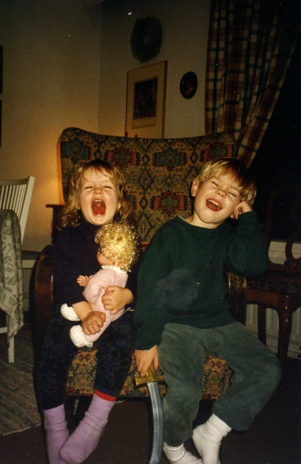 """My doll said something funny"". Supernaturliga flin since 1998."