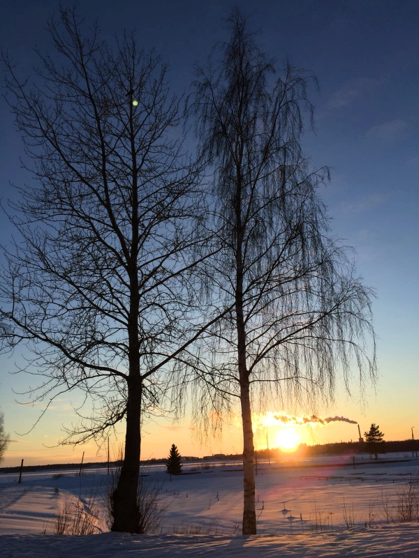 Hur ålderdomstecken är väl inte det att de enda bilderna jag har på min telefon är vackra naturbilder. Sorry not sorry!
