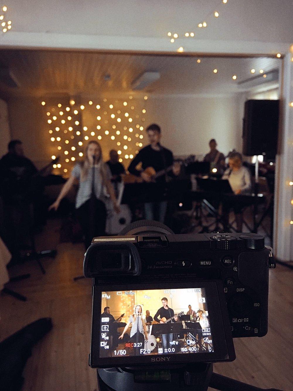 Dagens skörd. Mama Åström Band i farten. We rock!