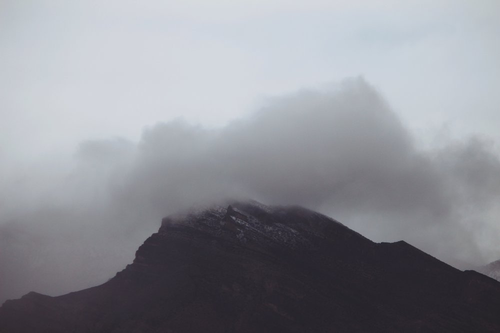 Clouds Over Red Rock Canyon - Las Vegas, NV - 2.jpg