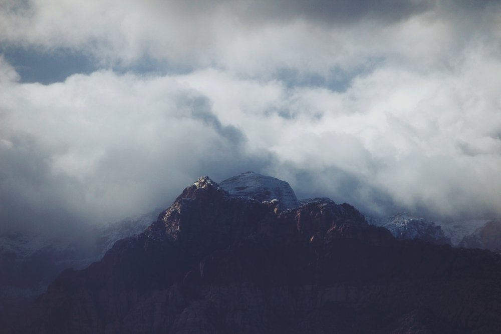 Clouds Over Red Rock Canyon - Las Vegas, NV - 3.jpg