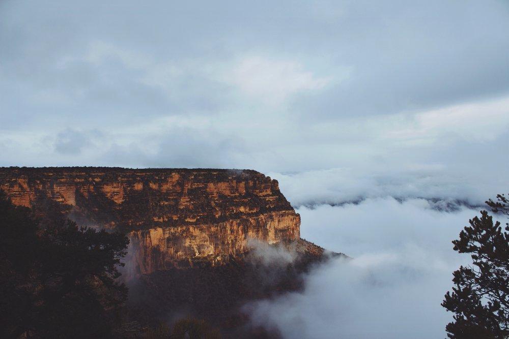 Morning Cloud Cover - Grand Canyon National Park, AZ.jpg