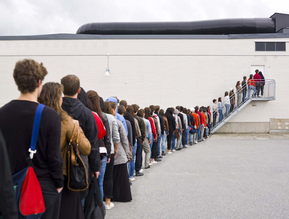 The days of waiting in line to learn are over -
