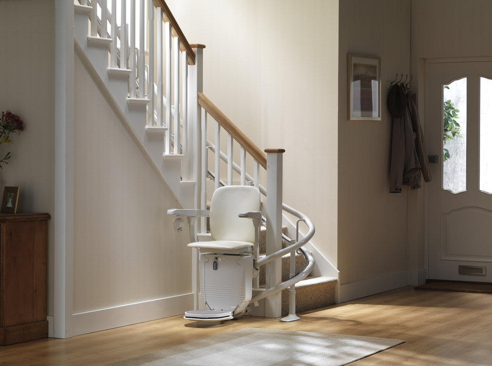 Siena 260 Curved Stairlift