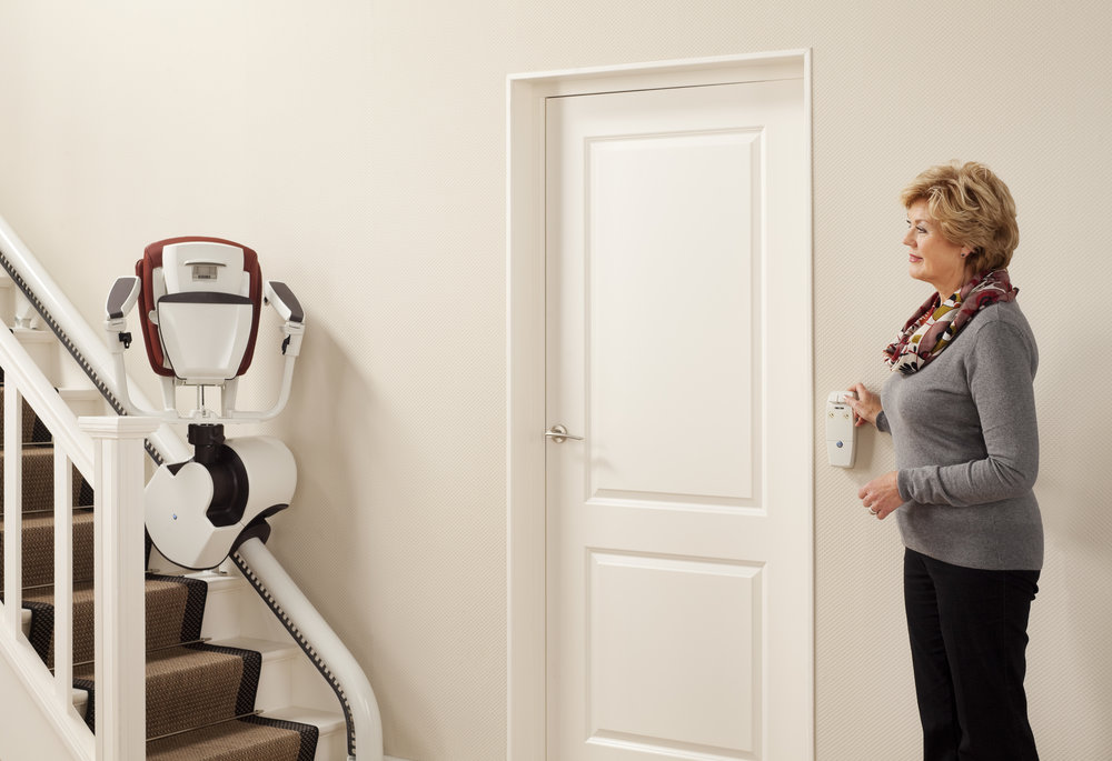 Flow 2 curved stairlift