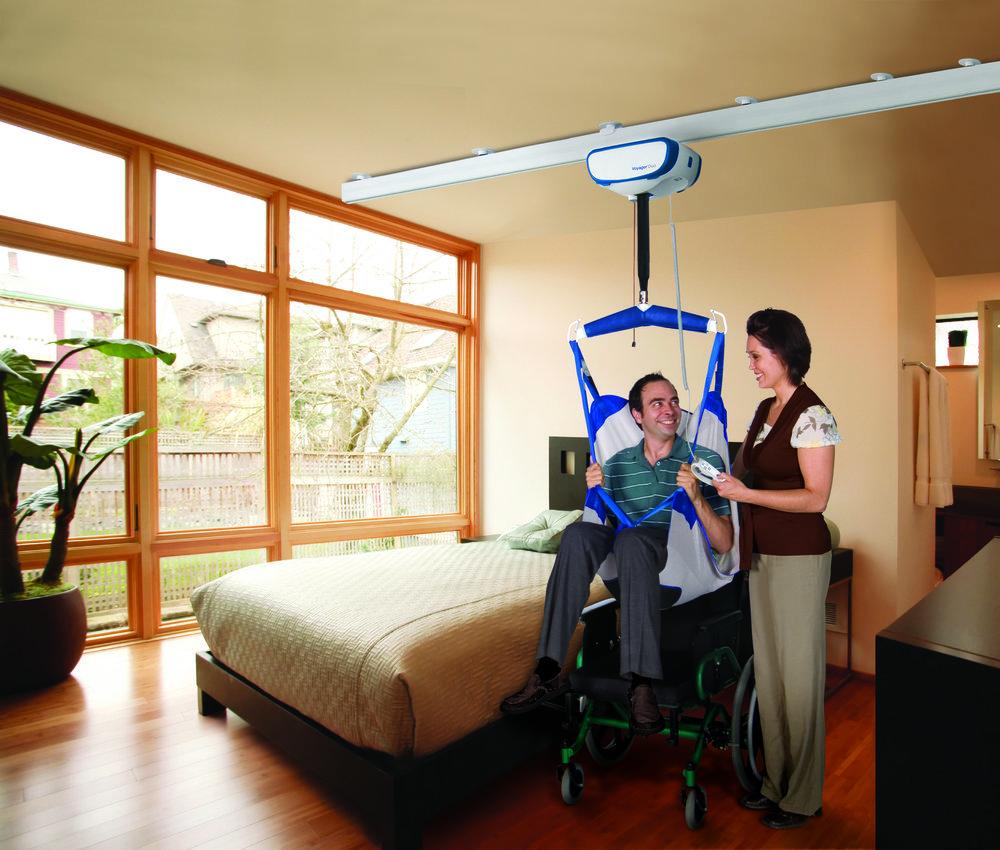 Arjo V5 Voyager Duo Ceiling Hoist