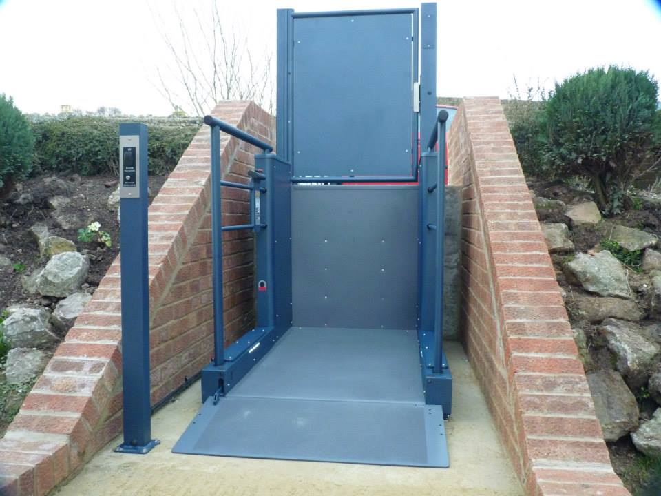 Wessex LR Low Rise Domestic Step Lift