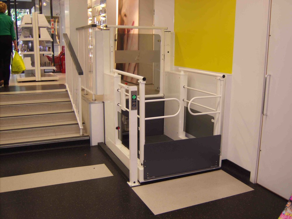 Wessex Low Rise Internal Step Lift