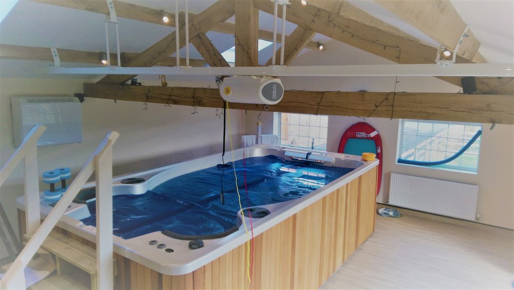 Handi-Move Hydrotherapy Pool Ceiling Hoist