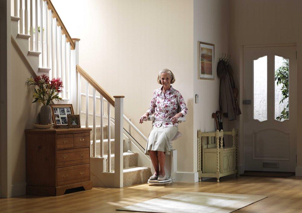 Stannah Sadler Perching Stairlift