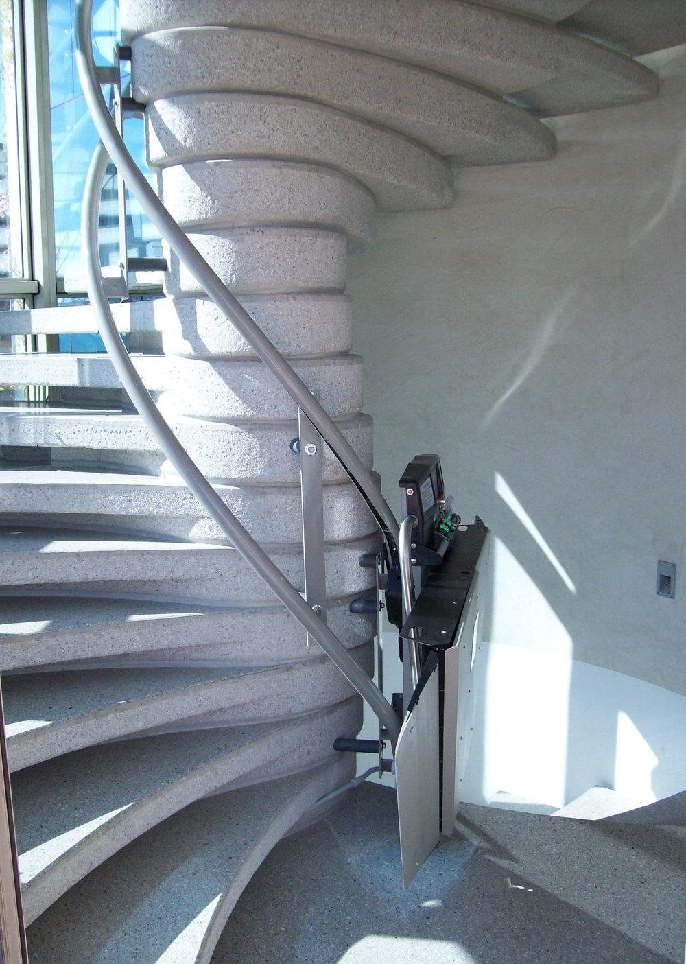 Inside Bend Public Access Lift