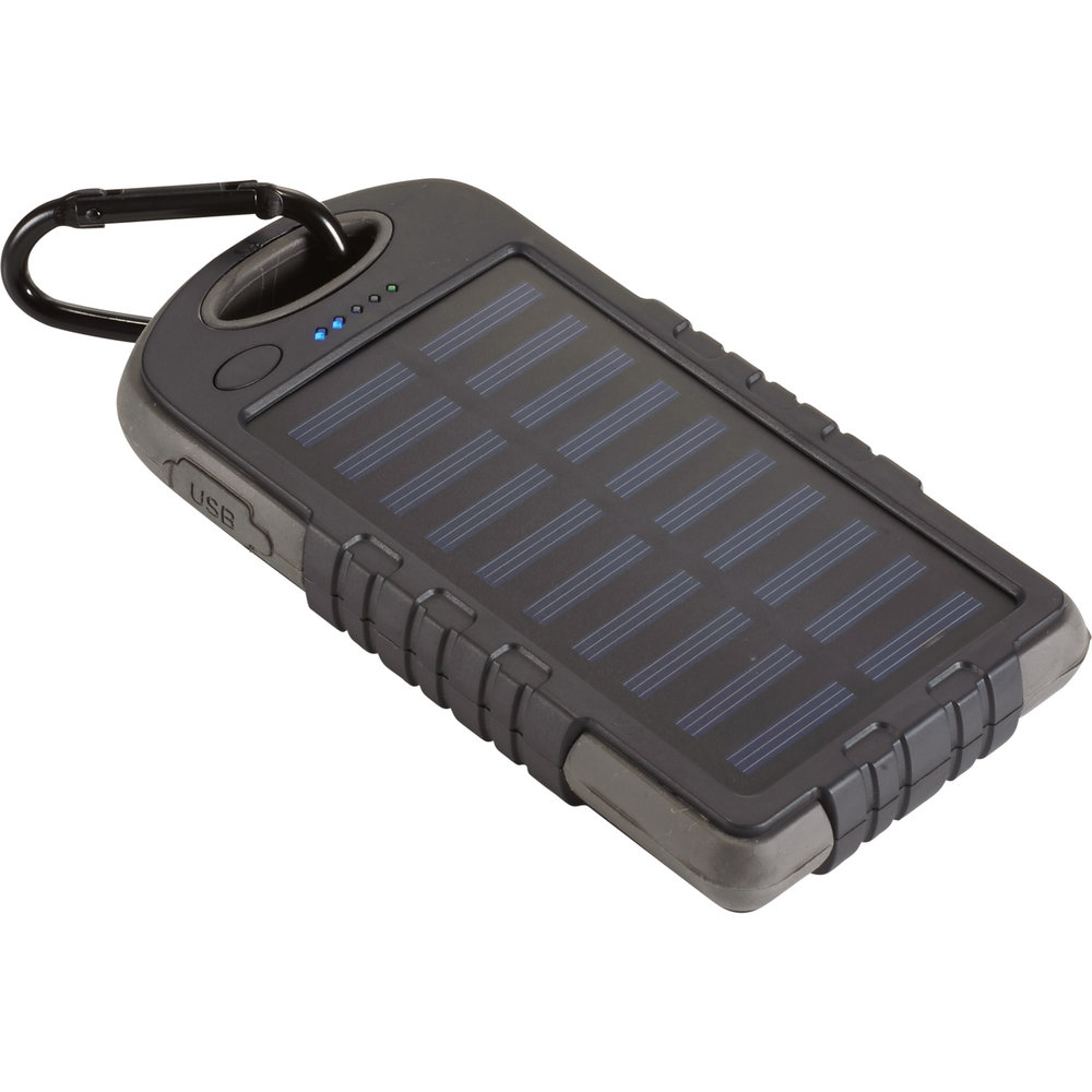 UL Listed Glow 8,000 mAh Solar Power Bank