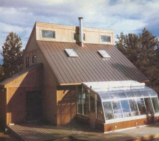 LITTLE BIG HOUSE   An affordable, passive solar, starter house for a young couple. The original design was built in 1981 in Monterey, Mass. for $35,000. Many others have since been built all over the country and abroad.