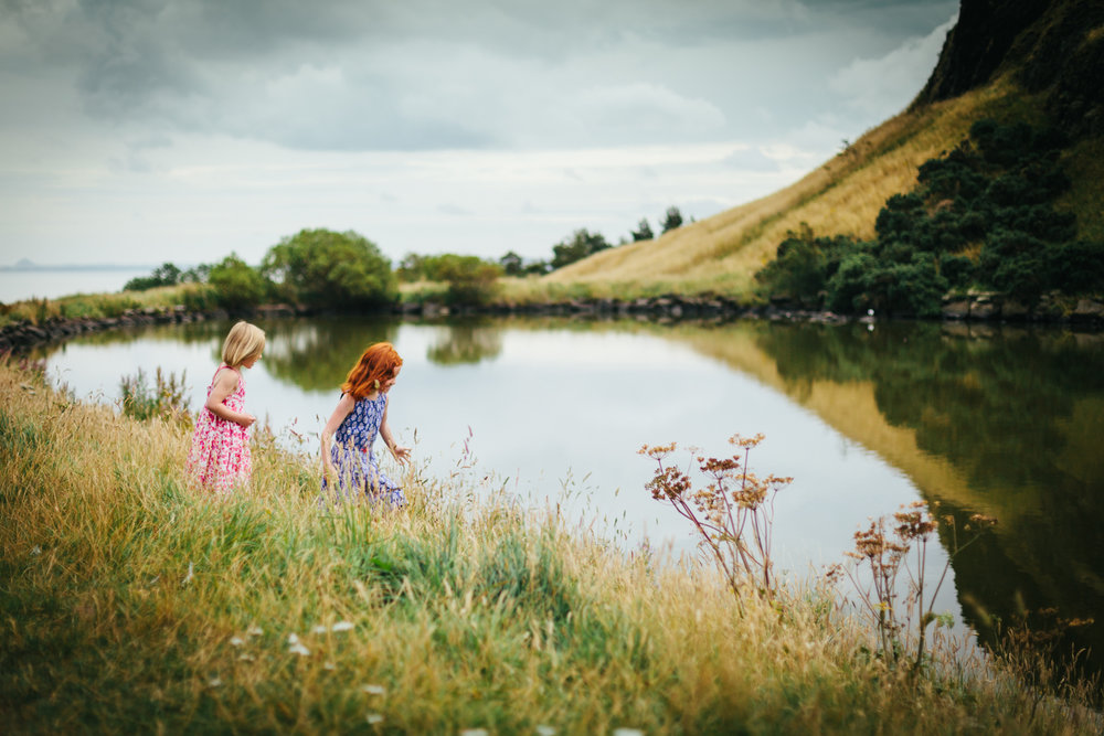 Edinburgh family photographer Andrea Thomson