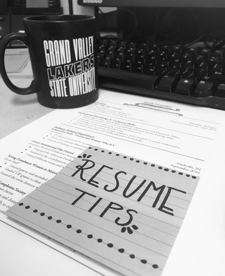 Dabbling Into Lifestyle Posting Resume Tips Fueled By Coffee