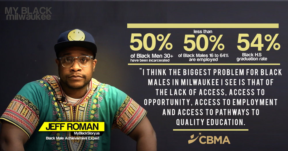 Jeff Roman - Milwaukee - Black Male Achievement Expert - MyBlackStory.us