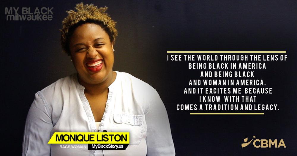 Monique Liston - Milwaukee - Race Woman- MyBlackStory.us