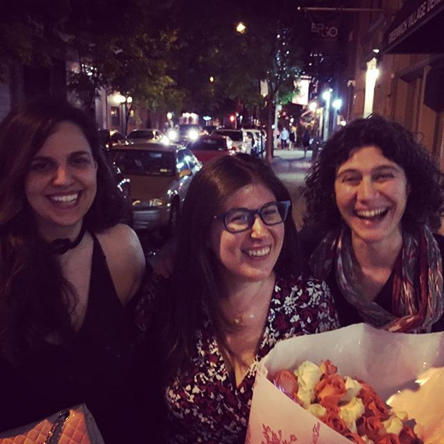 Happy birthday Jessica!!! So much #fun  last night with these two awesome ladies 😄✨Thank you for making me laugh so hard 😂#nyc #goodtimes #goodfood #laughter #friendship #summernight #birthday #happybirthday #hilarious #artists @petrasanader