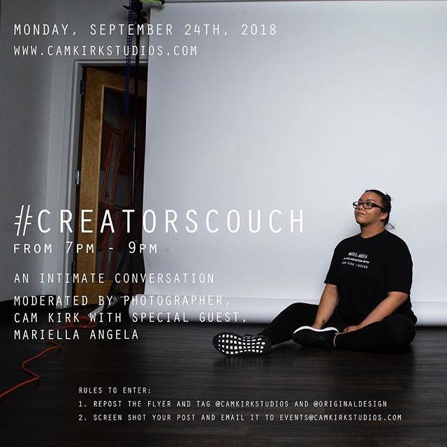 @itsmariel will be joining us for the latest installment of #CreatorsCouch. Follow the rules for a chance to be in on the conversation.