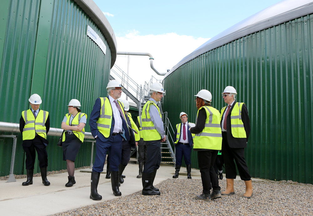 Leeming Biogas Opening