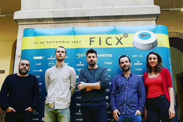 "Andamos x Gijón!!!! Felices de presentar ""Selva"" en el @gijonfilmfestival"