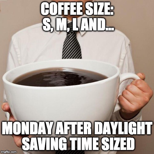 Happy Monday after Fall Daylight Savings Time! #MemeMonday #TheEmpireWay