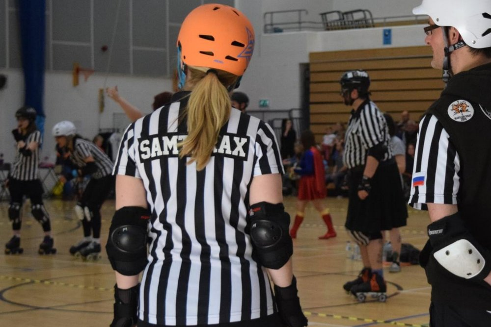 Become an Official - The game couldn't happen without the amazing officials. Become part of our team.
