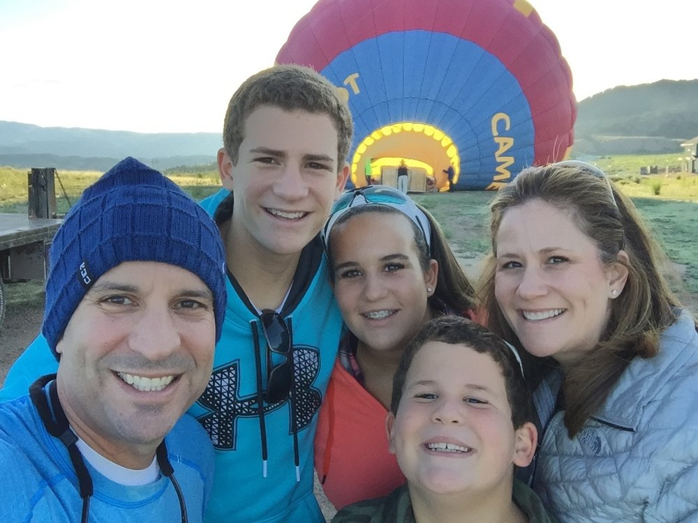 Beaver Creek, CO - Summer of 2015 - Went on a hot air balloon - Another thing to mark off my bucket list