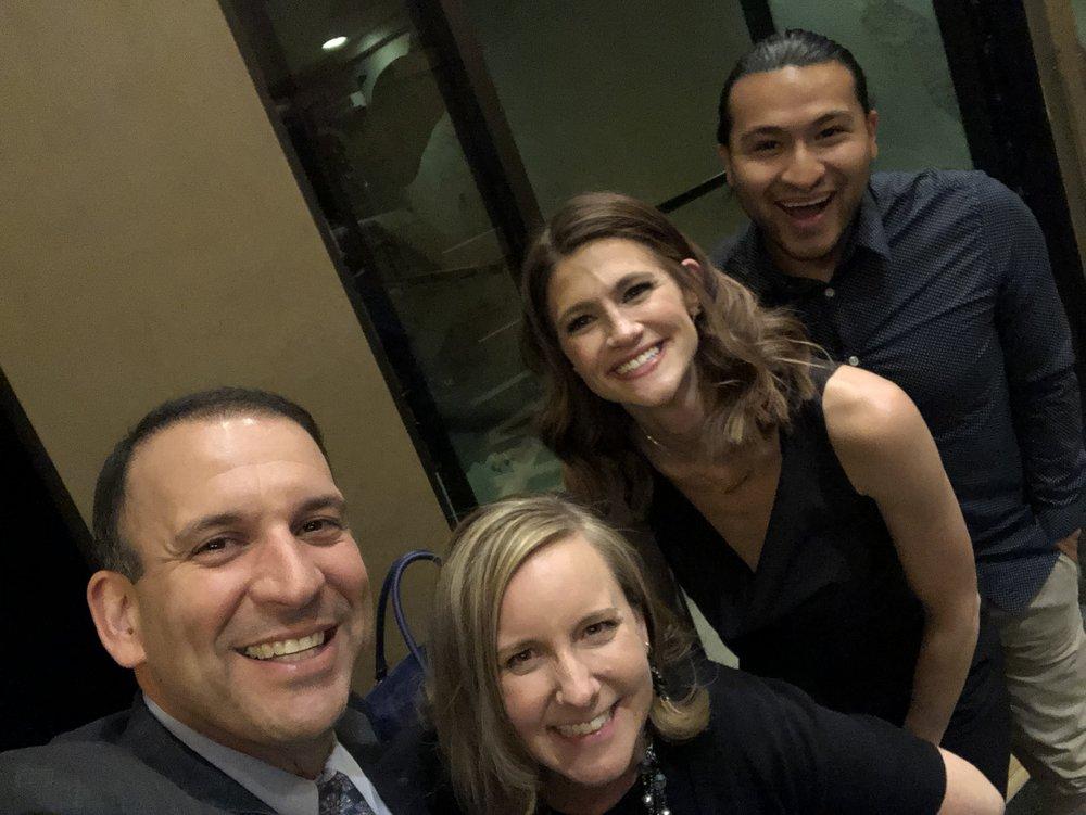 Heidi Parker, Emily Ruzzine, David Perez & SupermanHPV - Silver Syringe Awards - Las Vegas 2018