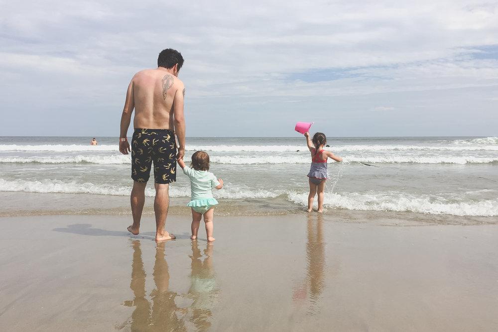 Beach day at Asbury Park, NJ | Staten Island Documentary Family Photography