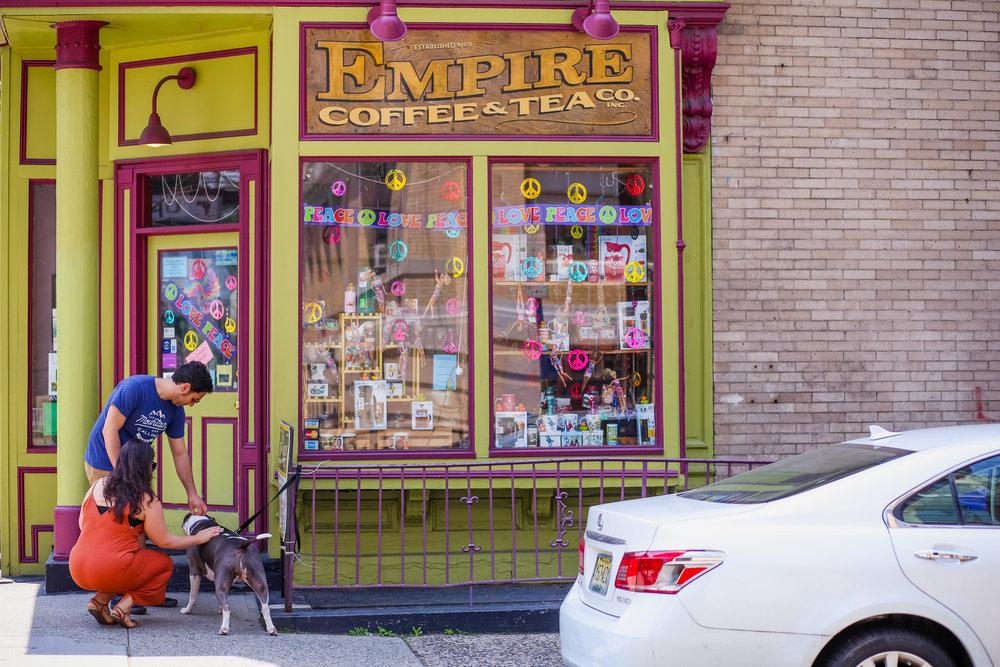 Empire Coffee and Tea Company in Hoboken, NJ.