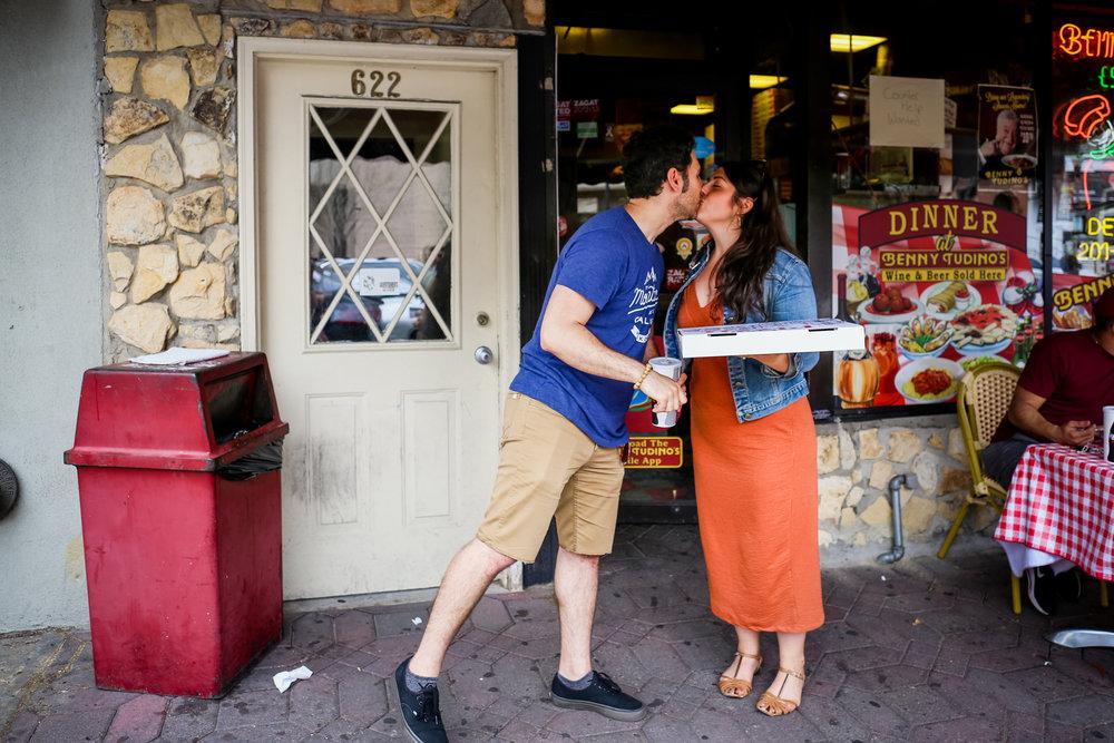 Benny Tudino's in Hoboken, NJ.