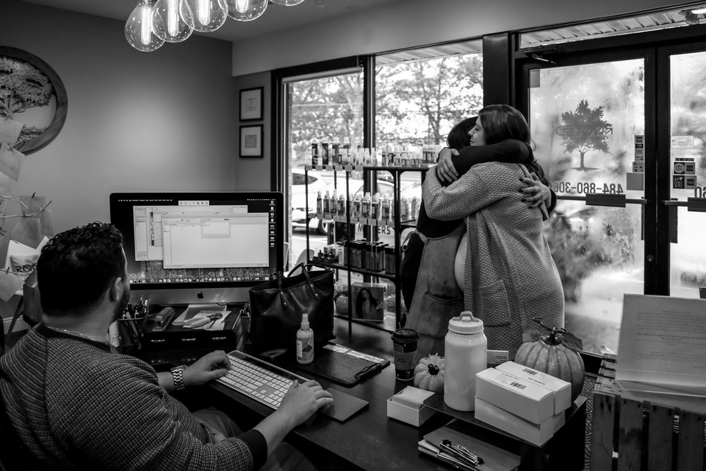 A Lehigh Valley salon that truly cares about it's customers, a sign of a successful small business.