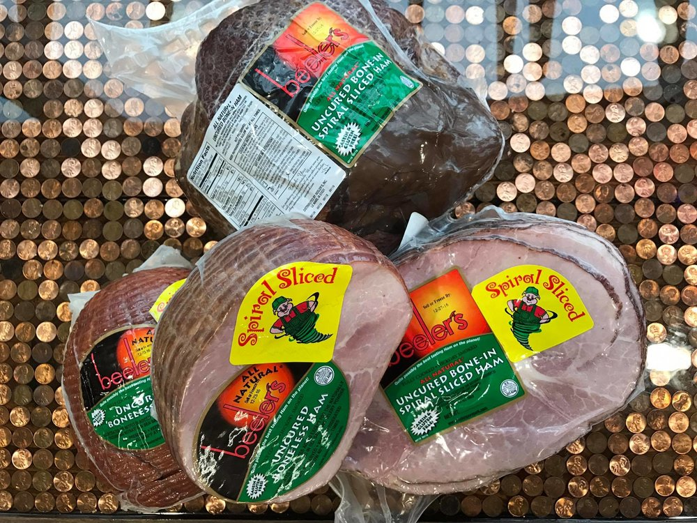 Fully line lunch meats and specialty meats straight from our instore butcher -