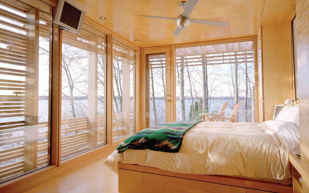 Sunset Cabin by Taylor Smyth Architects