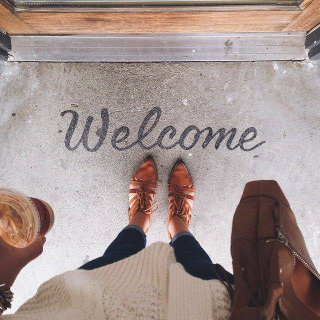 Welcome. We're glad you're here. -