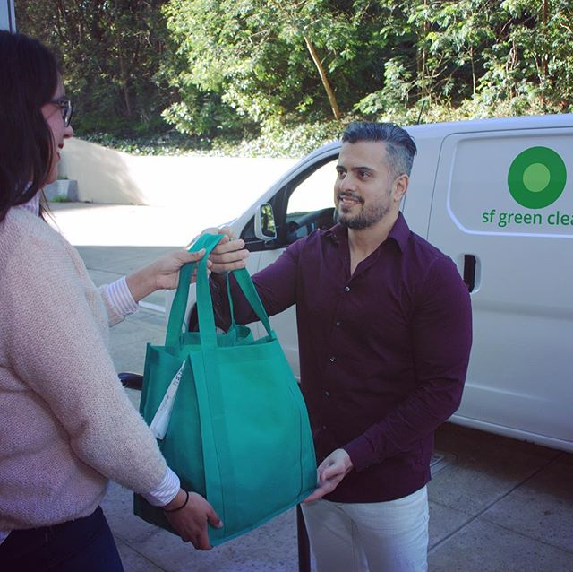 Free delivery right to your door- always. Schedule your pickup online today at www.sfgreenclean.com  #drycleaning #drycleaner #handfinished #folded #care #sanfrancisco #sausalito #downtownsausalito #millvalley #cortemadera #localbusiness #local #bayarea #northbay
