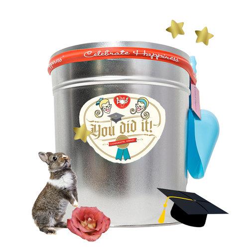 3 5 gallon tin congrats grad just pop in