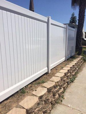 Vinyl Fence Contractor - Los Angeles Fence Builders — Los Angeles ...